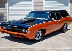 Custom 1968 Chevrolet Impala SS 427 Station Wagon
