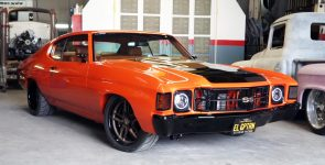 Luxurious El Gran Patron 1971 Chevrolet Chevelle by Customs by Lopez