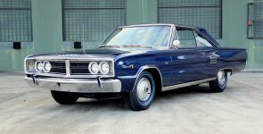 Gorgeous Deep Blue 1966 Dodge Coronet 500 426 Hemi