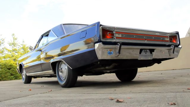 1966 Dodge Coronet 500 426 Hemi Rear