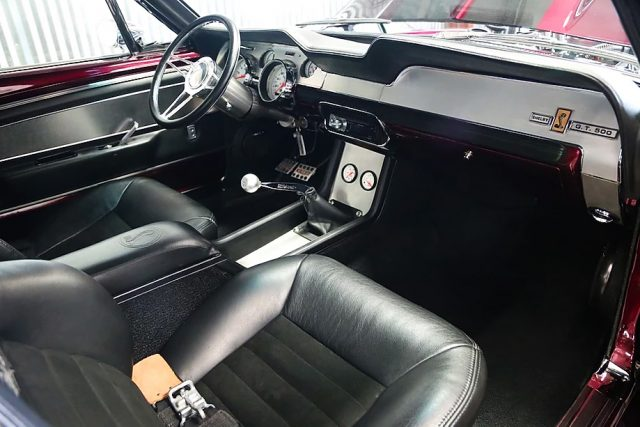 1967 Eleanor Ford Mustang Fastback Interior