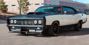 455 Horsepower Pro Touring 1969 Ford Galaxie 500 Race Car