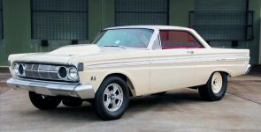Factory Experimental 1964 Mercury Comet A/FX 427 Drag Car