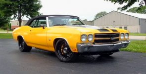 Pro-Touring 1970 Chevrolet Chevelle SS Convertible by Schwartz Performance