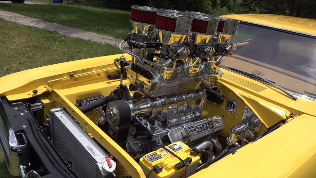 1970 Dodge Coronet Super Bee 505 Engine