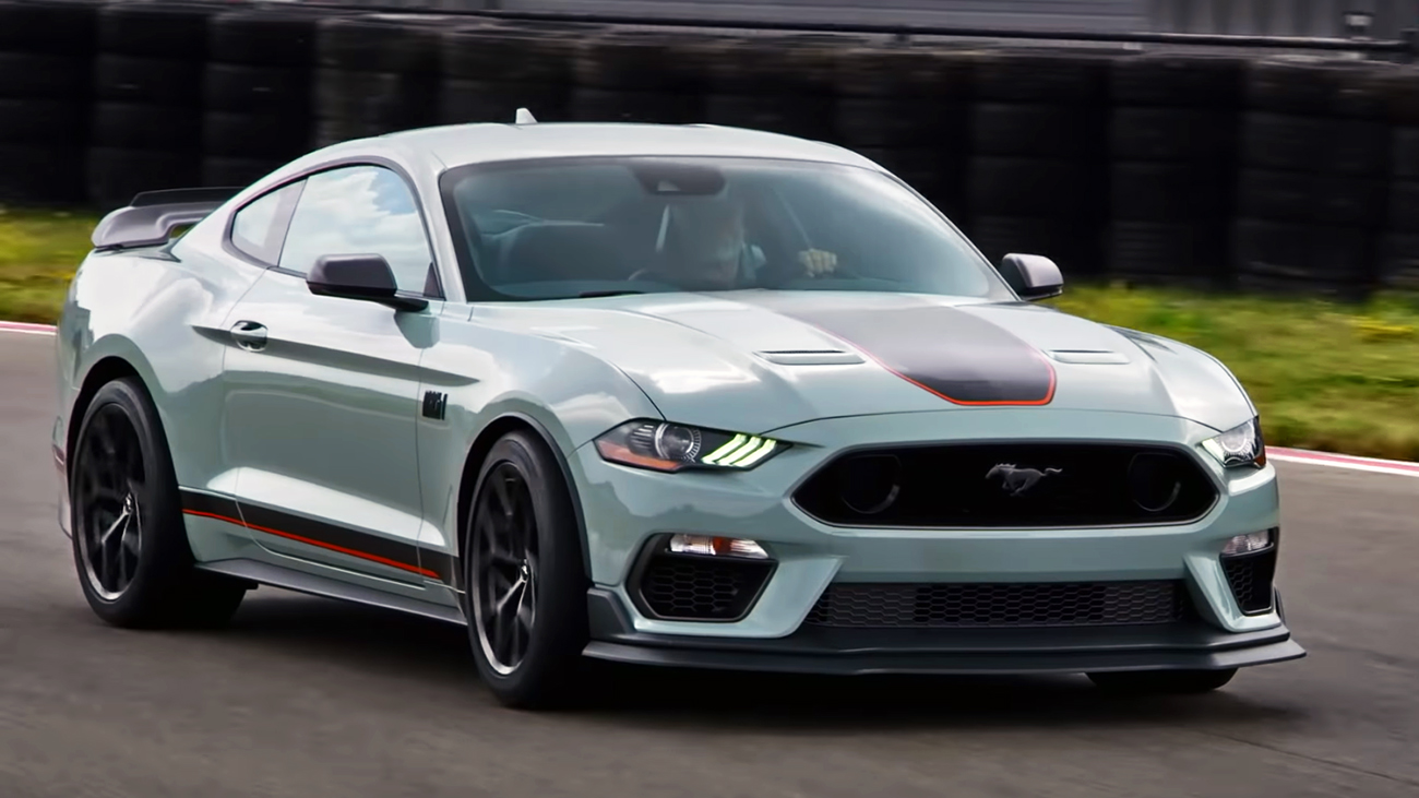 2021 Ford Mustang Mach 1 Cost