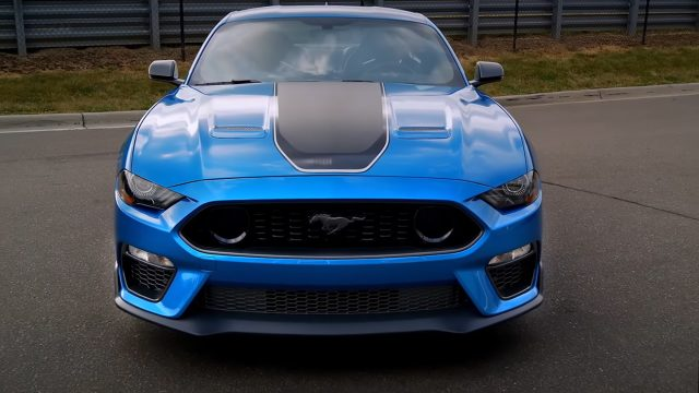 2021 MACH 1 Mustang Front