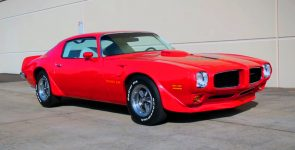 Gorgeous Red 1973 Pontiac Firebird Trans Am 455 Super Duty