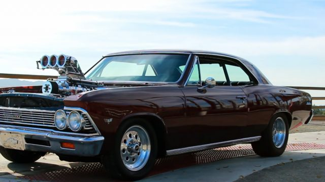 1966 Chevrolet Chevelle Front