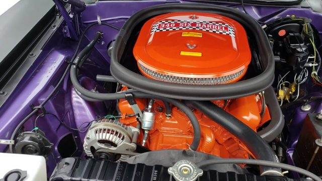 1970 plymouth barracuda aar engine