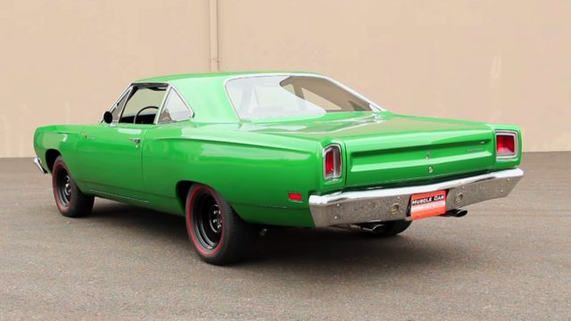 1969 1/2 Plymouth Road Runner A12 Rear