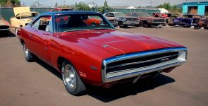 1970 Dodge Charger R/T with Gorgeous HEMI Burnt Orange Body Color