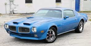 Sharp Looking 1972 Pontiac Firebird Formula 455 HO