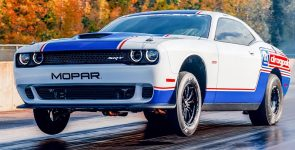 2021 Dodge Challenger Mopar Drag Pak Faster and More Powerful