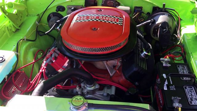 1970 Plymouth GTX 440 Six Pack Engine