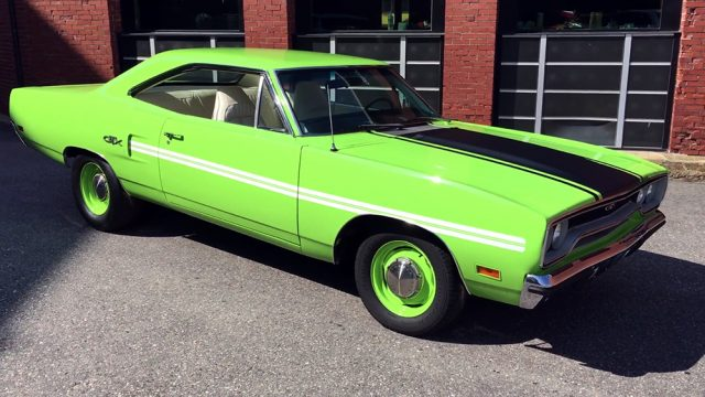 1970 Plymouth GTX 440 Six Pack Front