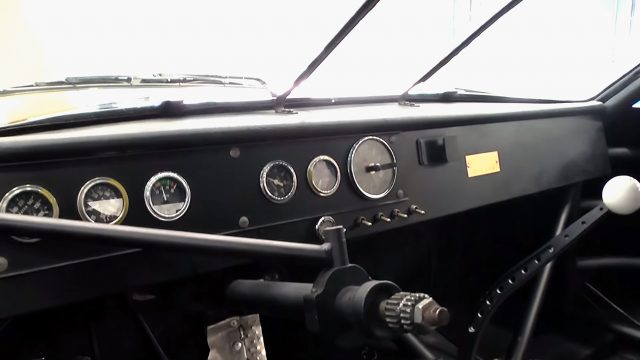 1974 Dodge Charger Olympia NASCAR Race Car Dashboard