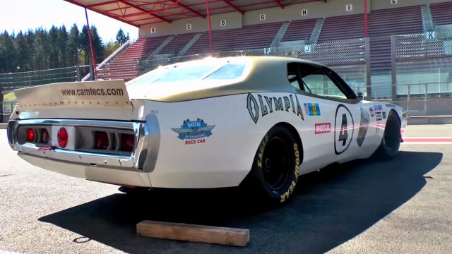 1974 Dodge Charger Olympia NASCAR Race Car