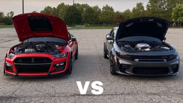 2020 Shelby Mustang GT500 vs 2020 Dodge Charger Hellcat