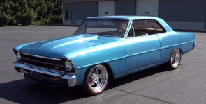 Terrific 1967 Chevrolet Nova SS Pro Touring