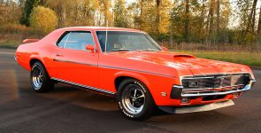 1969 Mercury Cougar Eliminator in Competition Orange