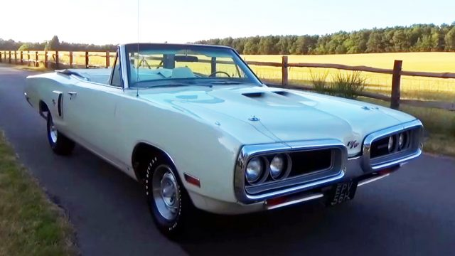 1970 Dodge Coronet RT Convertible Front