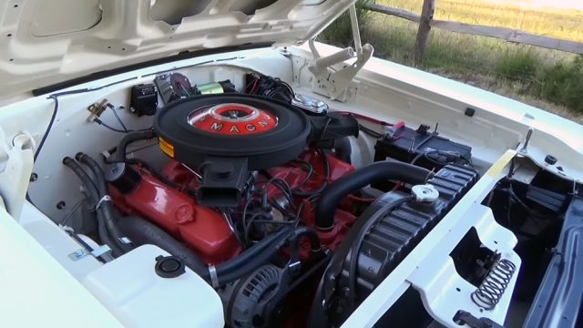 1970 Dodge Coronet RT Convertible Engine