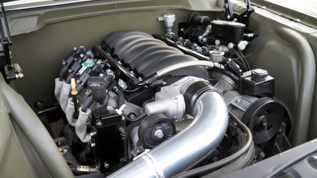 1966 Ford Mustang Fastback Pro-Touring Engine