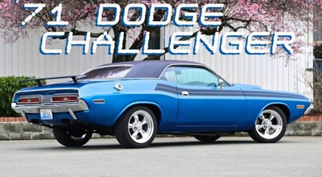 1971 Dodge Challenger Restomod Back