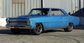 Phenomenal 1966 Chevy Nova SS Marina Blue Restomod