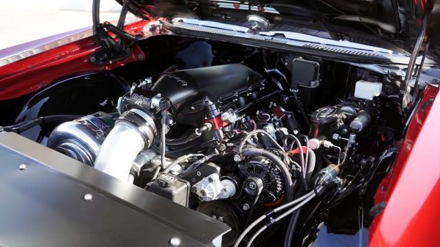 1970 Chevy Chevelle SS Engine
