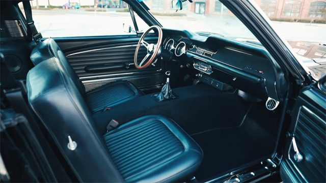 1968 Ford Mustang GT 2+2 Fastback Interior