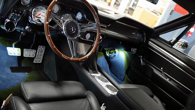 Official Eleanor Mustang Interior