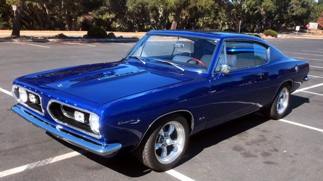 1967 Plymouth Barracuda Front