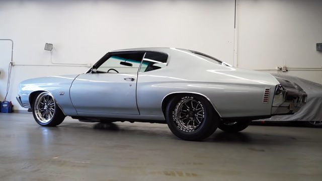 1970 Chevrolet Chevelle SS 454  Side