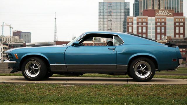 1970 Ford Mustang Mach 1 Side