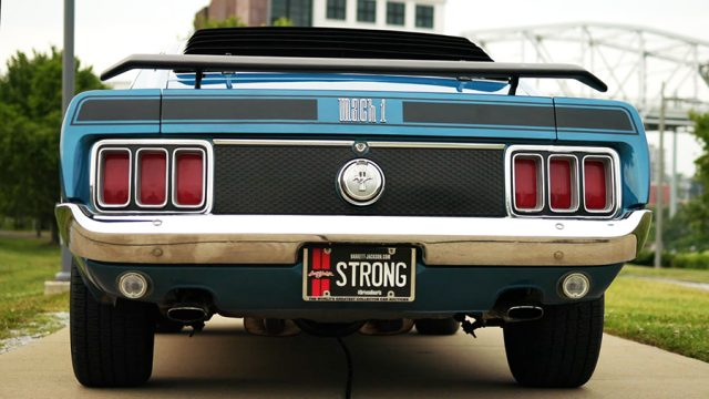 1970 Ford Mustang Mach 1 Back