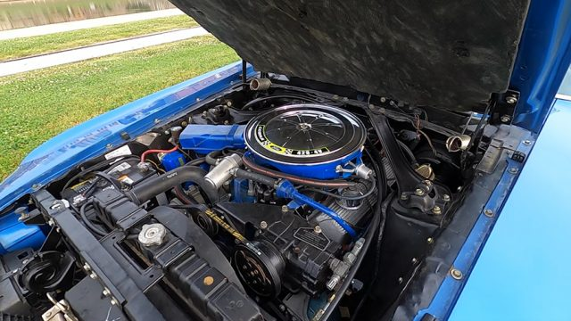 1970 Ford Mustang Mach 1 Engine